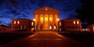 Lyceum at night